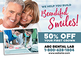 Dental Lab Postcard
