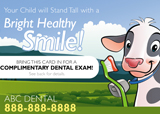 Dental Postcard Campaign - Children's Dentistry