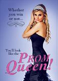 Prom Dress Postcard