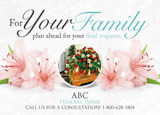 Funeral Home Postcard