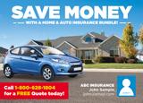 Auto Insurance Postcard
