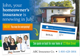 Homeowners Insurance Variable Postcard