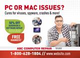 Computer Services Postcard