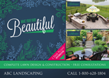 Landscape Design Postcard