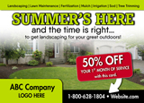 Landscaping Advertisement for Summer