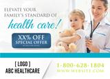 Healthcare Postcard Design