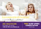 Sleep Apnea Postcard Design