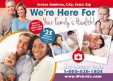 Urgent Care Postcard Design