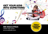 music school flyer