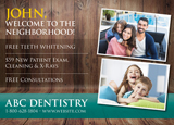 Dentist New Mover Postcard