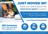 Insurance New Mover Postcard