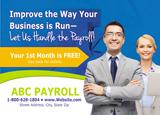 Payroll service advertisement