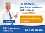 Homeowners Insurance Postcard