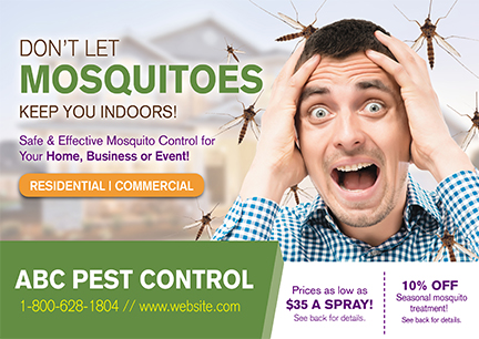 14 Brilliant Pest Control Direct Mail Postcard Advertising Examples