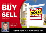 Buy or Sell Real Estate Postcard