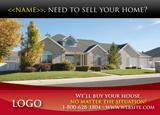 Variable Real Estate Postcard