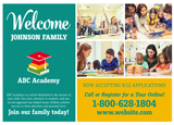 Private School Personalized Postcard