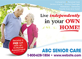 Senior Care Advertising Example