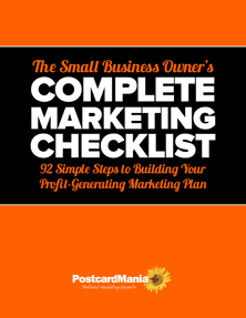 Small Business Owner's Marketing Checklist
