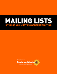 How to Choose the Right Targeted Mailing List