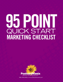 95 Point Quick Start Checklist