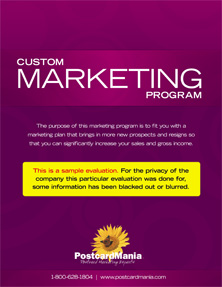 Custom Marketing Program Sample