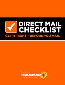 Best Mailing Ever Checklist