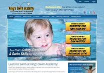 Swimming Lessons Website Design