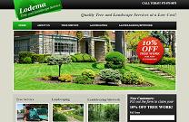 Landscaping Website Design