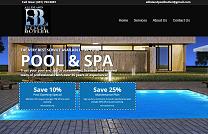 Pool Service Website Design