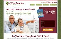 Retirement Planning Website Design