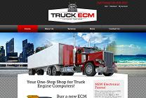 Truck Engine Computer Website Design