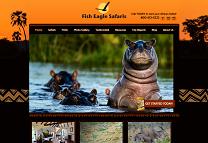 Wildlife Safari Website Design
