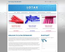 Testing Pens Website Design