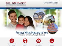 Insurance Agent Website Design