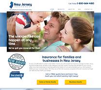 Insurance Agency Website Design