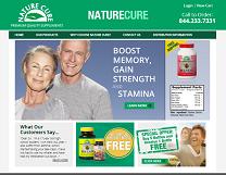 Health Supplements Website Design