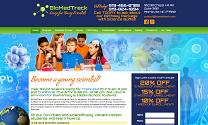 Science Camp Web Design
