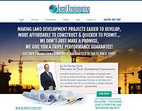 Engineering Consultants Website Design