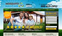 Mosquito Control Website Design