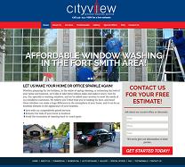 Window Washing Website Design