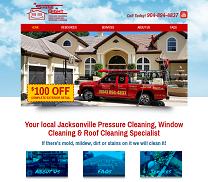 Pressure Washing & Windows Web Design