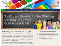 Private Preschool Website Design