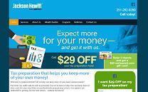 Tax Preparation Website Design